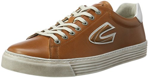 Ginger Brown Schuhe (camel active Herren Bowl 22 Sneaker, Braun (Ginger/White 05), 44.5 EU)