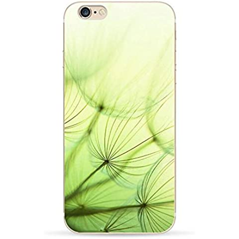 Pacyer® Custodia iPhone 7 Dandelion Case Ultra Thin Soft Bumper TPU Case Cover with Scenario & Motto Per iPhone 7 (3)