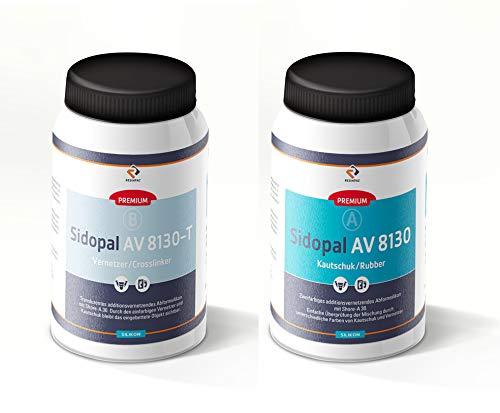 Abformsilikon 1 kg Sidopal AV 8130-T | transluzentes Dubliersilikon | Silicone mit hoher Weiterreißfestigkeit und Detailgenauigkeit | Silikon Shore A 30 |
