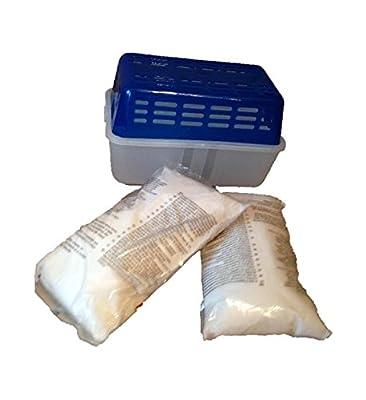 1 Set Luftentfeuchter mit 2 x 1 kg Granulat Raumentfeuchter Entfeuchter Behälter ,Preis pro Kg=5,50 € von unbekannt - TapetenShop