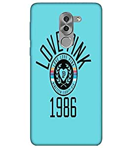 For Huawei Honor 6X black icon ( ) Printed Designer Back Case Cover By CHAPLOOS