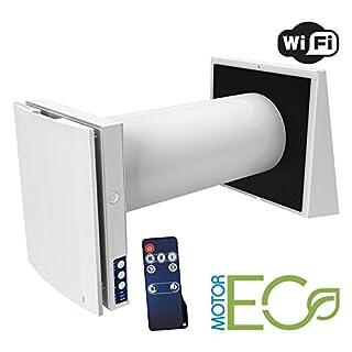 Blauberg UK Vento Expert - Single Room Energy & Heat Recovery Unit with WiFi