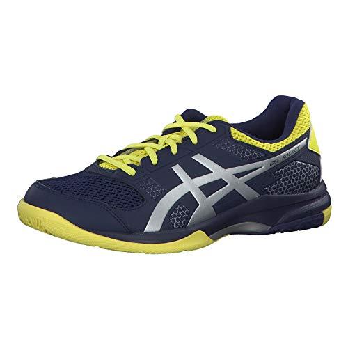 Asics Gel-Rocket 8, Zapatos de Voleibol para Hombre, Azul (Indigo Blue/Silver 426), 42.5 EU