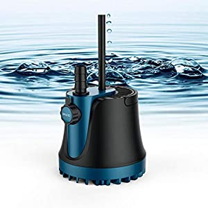 Bomba de agua sumergible, 220v 25w / 35w / 60w Bomba de agua 1800L / H / 2500L / H / 3000L / H Bomba sumergible…