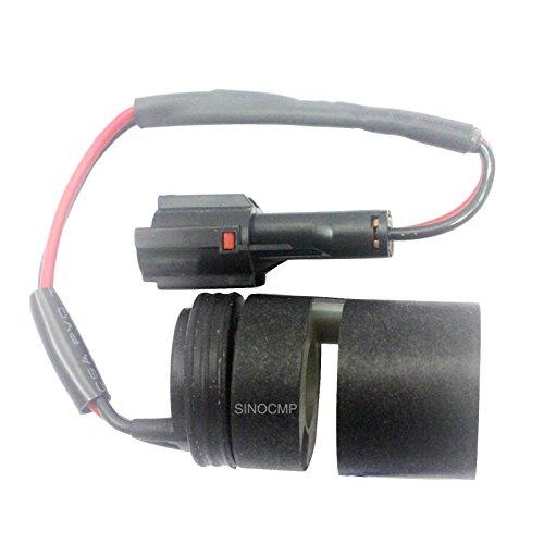 Sinocmp Pompe hydraulique Électrovanne Bobine pour Sumitomo Sh200-2 Kdrde5kr-20/40 C13-203 A Skx5p-17-210 solénoïde pièces, 3 mois de garantie