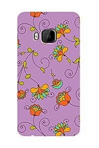 ZAPCASE PRINTED BACK COVER FOR HTC ONE M9 - Multicolor