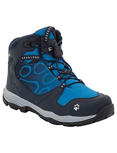 Jack Wolfskin Jungen Akka Texapore Mid Trekking- & Wanderstiefel, Blau (Night Blue 1010), 39 EU