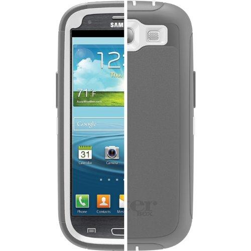 OtterBox Defender Series, Schutzhülle für Samsung Galaxy S3 Glacier, grau/weiß