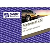 Avery Zweckform Fahrtenbuch PKW 222, weiß DINA6 quer 40Blatt