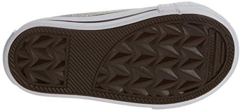 Conguitos  HVS14103, Chaussures souples pour bébé (fille) Argenté