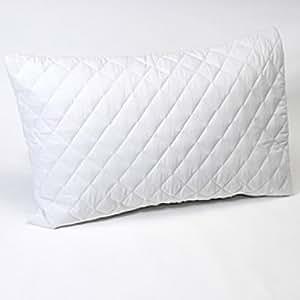 homescapes lot de 2 housse prot ge oreiller matelass 50 x 75 cm cuisine maison. Black Bedroom Furniture Sets. Home Design Ideas