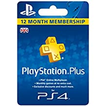 Playstation Plus - 365 Day Subscription [Importación Inglesa]