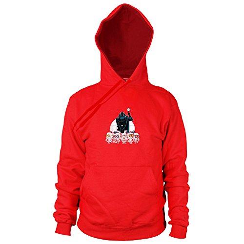 Despicable Empire - Herren Hooded Sweater, Größe: XXL, Farbe: rot (Xxl-stormtrooper Kostüm)