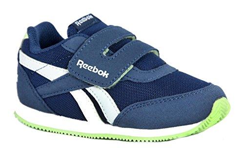 Reebok Royal Cljog 2 KC, Scarpe Running Uomo, Blu (Azul/(Washed blu/White/Lime Glow) 000), 38.5 EU