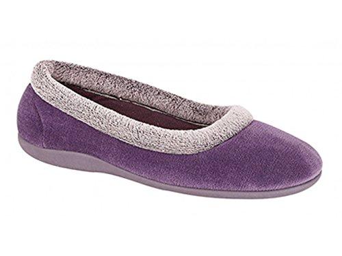 Ciabatte, Pantofole Da Donna Viola