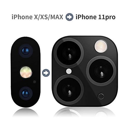Hamkaw - Protector lente cámara iPhone XR/X/XS/XS