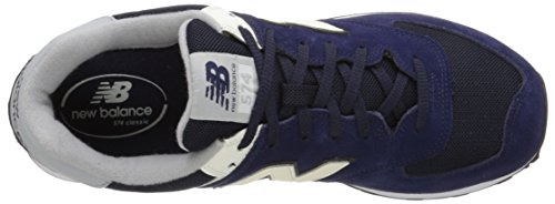 New Balance ml Wl574v1, Baskets Basses Homme Bleu (BLUE RED)