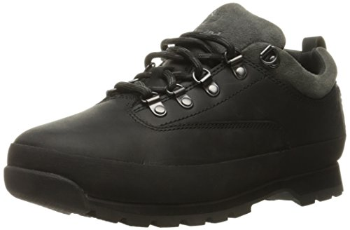Timberland Herren Euro Hiker Low Oxfords, Schwarz (Black), 44 EU (Low Hiker Schuhe)
