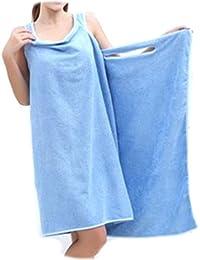 PRESKIN - serviette en microfibre, SmartTowel serviette / serviette de douche pour les sports, Voyage et salle de bain, ultra absorbant, léger et peu encombrant