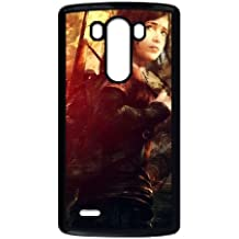K1S84 The Last of Us R4I5LQ funda LG caja del teléfono celular G3 funda Cubierta Negro AO6PJS9XM