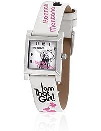Time Force HM1003 - Reloj con correa de piel para mujer, color blanco / gris