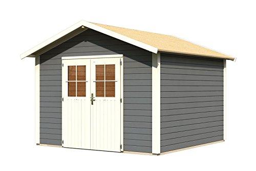 Karibu Woodfeeling Aktionshaus Linau 8 terragrau 28 mm