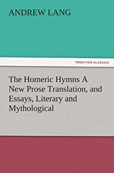 the homeric hymns interpretive essays