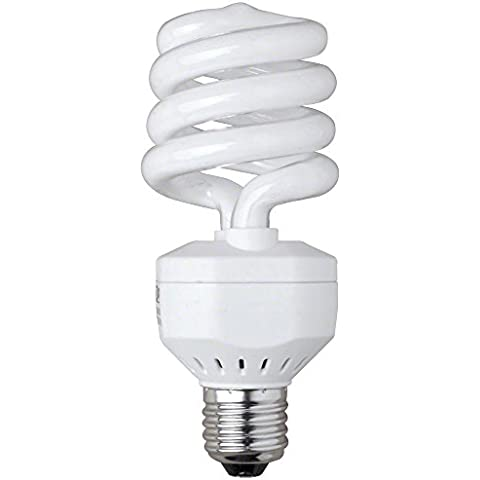 Walimex - Bombilla de luz natural en espiral (25 W que equivalen a 125 W)