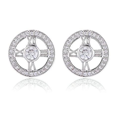 Aooaz Copper Earrings Womens Earrings Jewelry Watch Earrings Ear Stud