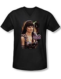 Xena - Warrior Princess Herren V-Neck T-Shirt