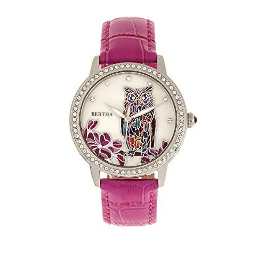 Bertha relojes reloj de pulsera de mujer de nácar Madeline