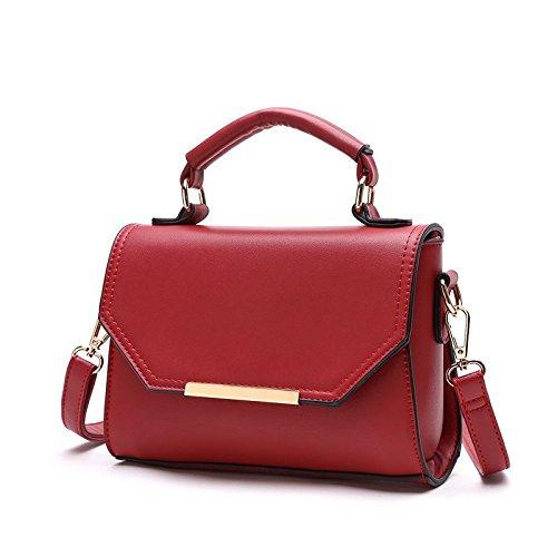 Umhängetaschen Die neue Flut des Koreanischen Fashion Bag Lady Single Schultertasche Handtasche All-Match Einfache Handtasche b