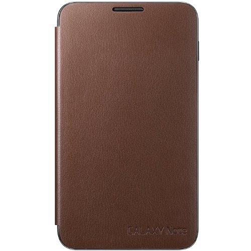Samsung EFC-1E1CDEC Etui flip pour Galaxy Note Marron