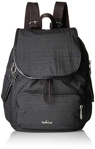 Kipling - City Pack S, Zaini Donna Nero (Dazz Black)