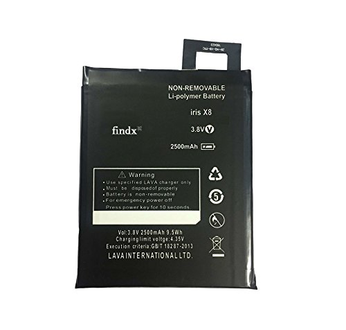 FINDX Mobile Battery For Lava Iris X8