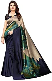 Anni Designer Women's Art Silk With Blouse Piece S