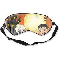 Preisvergleich für Schlafmaske für Halloween mit Totenkopf, Augenabdeckung, Augenmasken, beruhigende geschwollene Augen, dunkle Kreise...