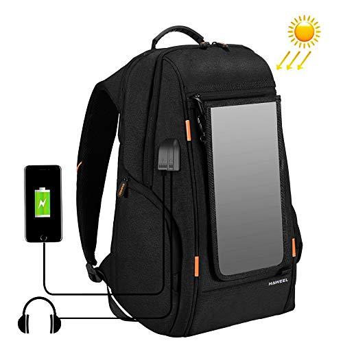 MG Universal Haweel Flexible Solar Panel 14W Power Backpack Laptop Bag -