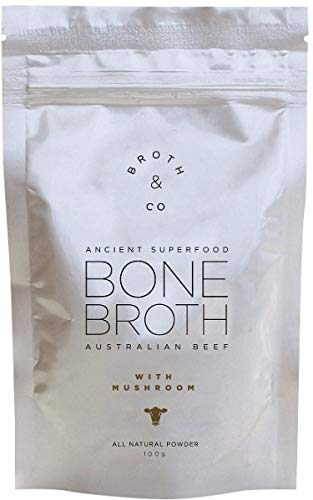 Organic Grass-Fed Beef Bone Broth - Sourced From 100% Natural Australian  Beef With No Salt, Preservatives, or Additives - Mild & Neutral Flavor,  Amino