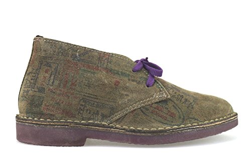 WALLY WALKER polacchini donna 38 EU marrone camoscio AJ343