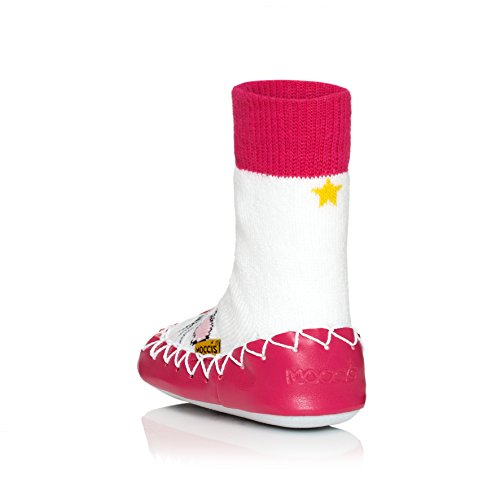moccis Miss mjuao Mocassins Pink/White