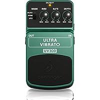 Behringer UV300 4033653052603 - Pedal de efecto vibrato para guitarra, color verde