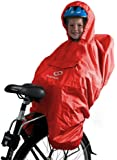 Hamax Protection Pluie Poncho Rouge