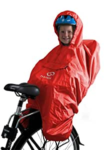 Hamax Rain Poncho Red red red Size:Taille Unique