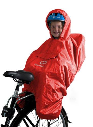 Hamax Kinder Regenponcho Regenschutz Poncho, Rot, One size, 11101066