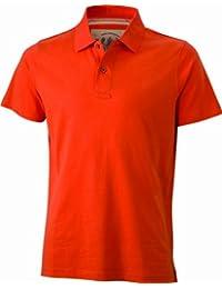 James & Nicholson Herren Poloshirt Polo Men's Vintage
