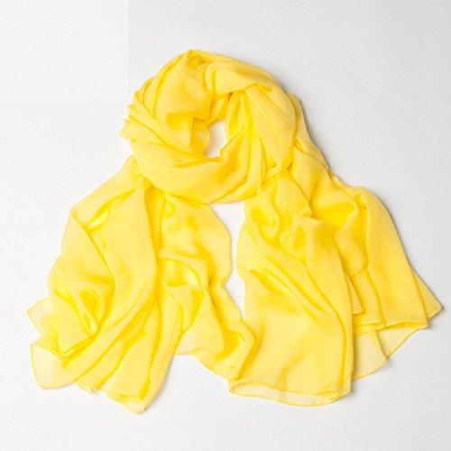 XJoel Frauen Blumen & Graphic Druck 100% Seide Große Muster Natur Schal Westliche Sommer-shirts