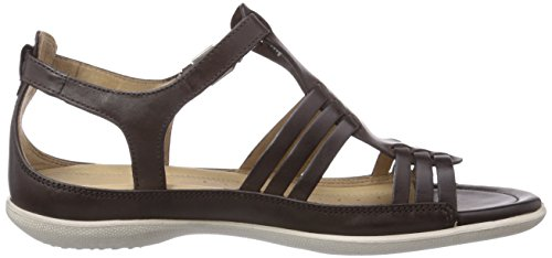 Ecco  Flash, Sandales Bout ouvert femme Braun (COFFEE 2072)