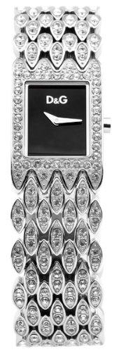 Dolce-Gabbana-DW0076-Reloj-analgico-para-mujer-de-acero-Inoxidable-plateado