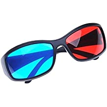 Sonline Rojo-Azul / Gafas 3D Estilo de Cian Anaglifo para 3D Pelicula TV